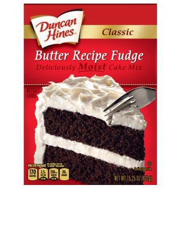 Classic Butter Recipe Fudge Cake Mix