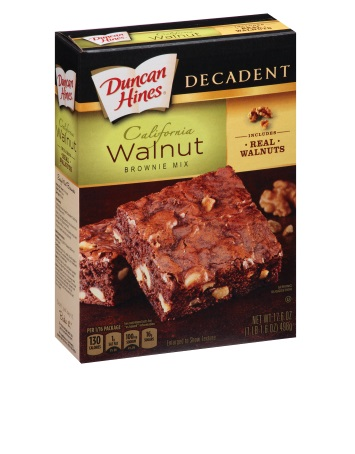 California Walnut Decadent Brownie Mix