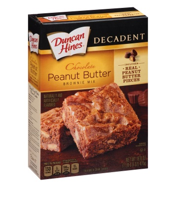 Chocolate Peanut Butter Decadent Brownie Mix
