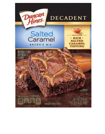 Salted Caramel Decadent Brownie Mix