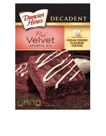 Red Velvet Decadent Brownie Mix