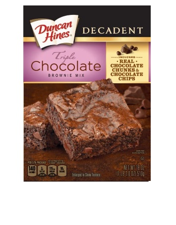 Triple Chocolate Decadent Brownie Mix