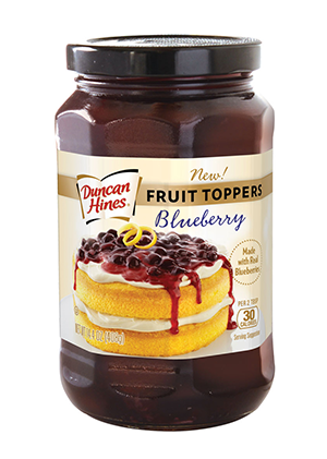 Duncan Hines Fruit Toppers™ Blueberry