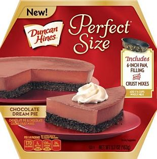 Duncan Hines® Perfect Size Chocolate Dream Pie