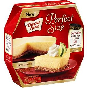 Duncan Hines® Perfect Size Key Lime Pie