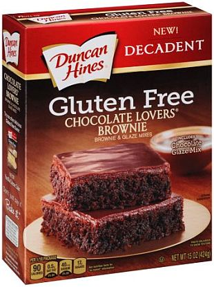Duncan Hines® Gluten Free Chocolate Lover's Brownies