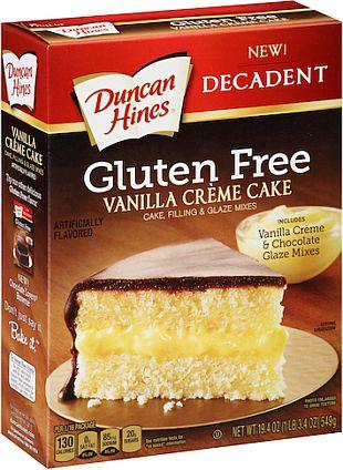 Duncan Hines® Gluten Free Vanilla CrèmeCake