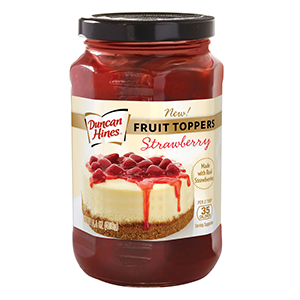 Duncan Hines Fruit Toppers™ Strawberry