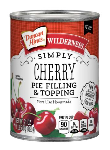Duncan Hines Wilderness® Simply Cherry Pie Filling & Topping