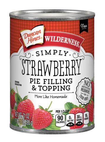 Duncan Hines Wilderness® Simply Strawberry Pie Filling & Topping