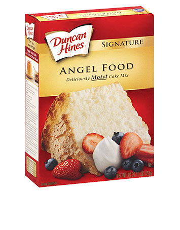 Is Duncan Hines Angel Food Cake Gluten Free