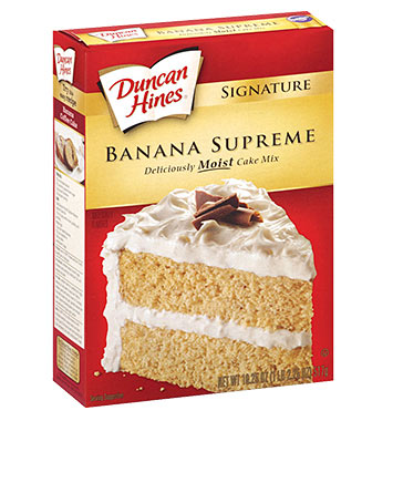 Signature Banana Cake Mix