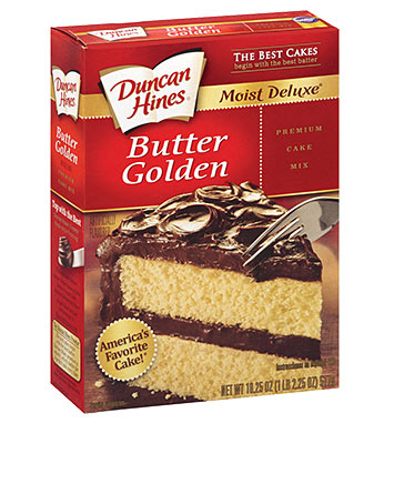 Butter Recipe Cake Mix Duncan Hines