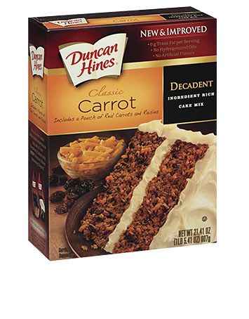 Decadent Carrot Cake Mix