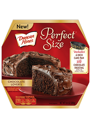 Duncan Hines® Perfect Size Chocolate Lover's Cake | Duncan Hines®