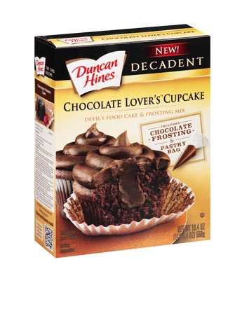 Chocolate Lover's Decadent Cupcake Mix