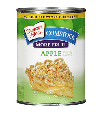 Duncan Hines Comstock® More Fruit Apple Pie Filling