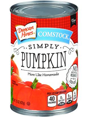Duncan Hines Comstock® Simply Pumpkin