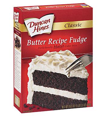 Classic Butter Recipe Fudge Cake Mix