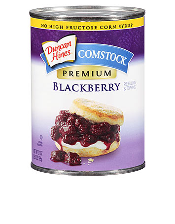 Duncan Hines Comstock® Blackberry