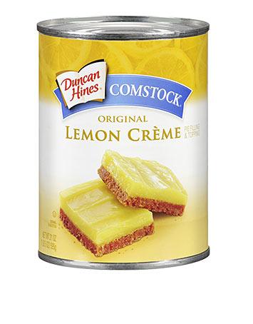 Duncan Hines Comstock® Lemon Crème