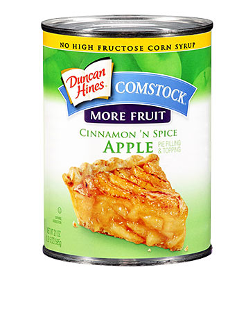 Duncan Hines Comstock® More Fruit Cinnamon 'N Spice Apple
