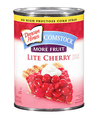 Duncan Hines Comstock® More Fruit Lite Cherry