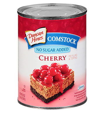 Duncan Hines Comstock® No Sugar Added Cherry
