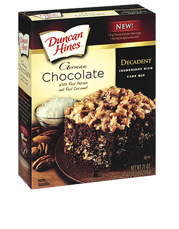 Decadent German Chocolate Cake Mix