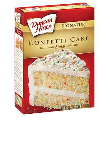 Signature Confetti Cake Mix