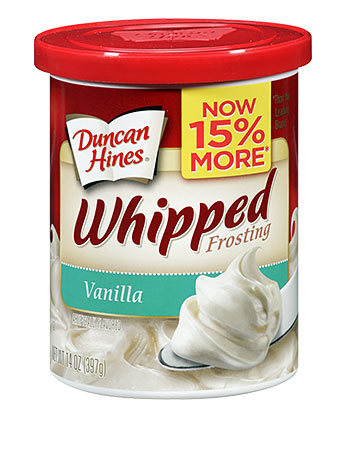 Whipped Vanilla Frosting