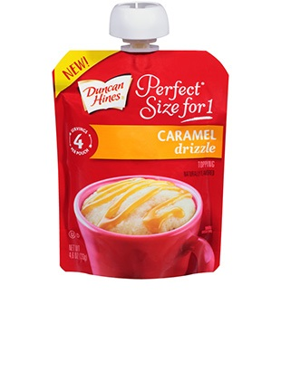 Perfect Size for 1® Caramel Drizzle Topping