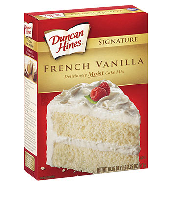 Signature French Vanilla Cake Mix