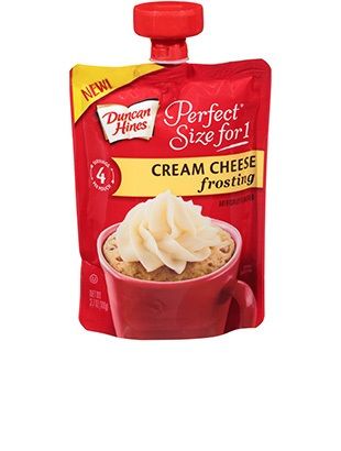 Perfect Size for 1® Cream Cheese Frosting