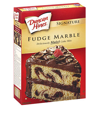 Signature Fudge Marble Cake Mix