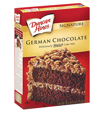 German Chocolate Cake With Devils Food Cake Mix