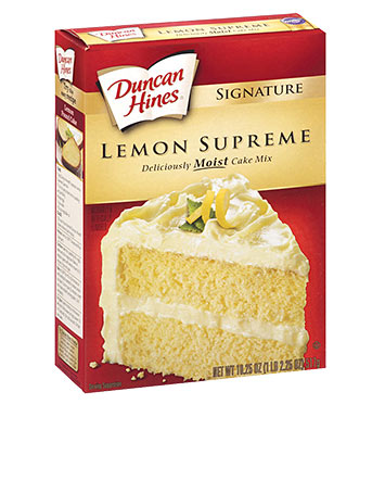 Signature Lemon Supreme Cake Mix