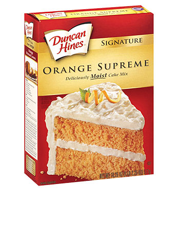 Signature Orange Cake Mix