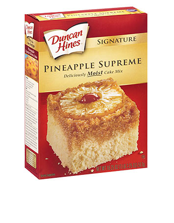 Signature Pineapple Cake Mix