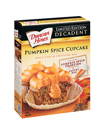 Pumpkin Spice Decadent Cupcake Mix