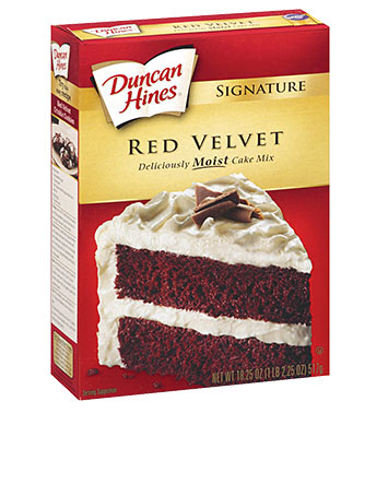 Signature Red Velvet Cake Mix