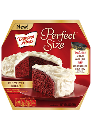 Duncan Hines® Perfect Size Red Velvet Dream Cake
