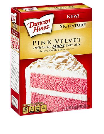 Signature Pink Velvet Cake Mix