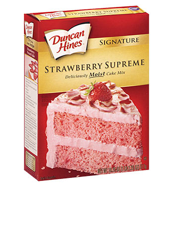 Signature Strawberry Cake Mix