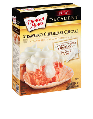 Strawberry Cheesecake Cupcake Mix
