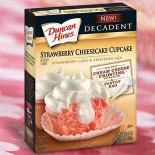 Recipes using strawberry cake mix cupcakes