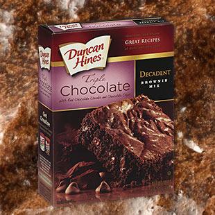 Duncan hines triple chocolate decadent cake mix recipes