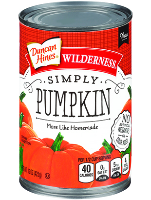 Duncan Hines Wilderness® Simply Pumpkin