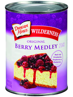 Duncan Hines Wilderness® Berry Medley Pie Filling & Topping