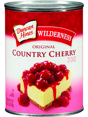Duncan Hines Wilderness® Country Cherry Pie Filling & Topping 21 oz.